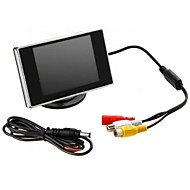"billiga Parkeringskamera för bil-Jtron 3.5 ""Hign Definition Car Color TFT LCD-skärm Rearview DVD"