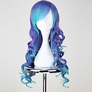 Vocaloid Luca Damen 30 Zoll Hitzebeständige Faser Blau Anime Cosplay Perücken