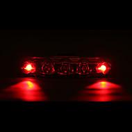 billige Sykkellykter og reflekser-Baklys til sykkel / sikkerhet lys / Baklys LED Sykling Vanntett, LED Lys AAA Batteri Sykling - MOON