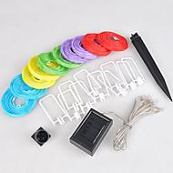 10 peças solares chineses Partido corda luzes de lanterna