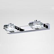 baratos Luzes para Espelho-Moderno / Contemporâneo Iluminação do banheiro Metal Luz de parede 90-240V 3W
