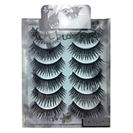 6 pairscoolflower false eyelashes 051#