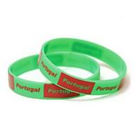Portugalia Flag Model 2014 Cupa Mondială de silicon Wrist Band