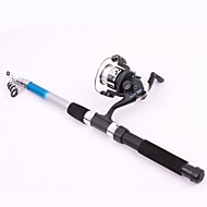 cheap Fishing-Fishing Rod Casting Rod Casting Rod Fibre Glass Sea Fishing Rod & Reel Combos