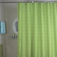 お買い得  シャワーカーテン-シャワー用カーテン 近代の ポリエステル 水玉 機械製