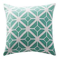 tanie Zestawy poduszki-1 szt Bawełna Poduszka z wkładem Pokrywa Pillow, Geometryczny Modern / Contemporary