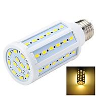 billige Globepærer med LED-E26/E27 LED-spotpærer LED-globepærer LED-kornpærer T 60 LED SMD 5730 Varm hvit 1000-1200lm 3000-3500K AC 220-240V