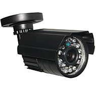 cheap CCTV Cameras-CCTV HD 24IR 900TVL CMOS IR-CUT Day/Night Waterproof Home Security Camera with Bracket