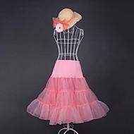Sweet Lolita Vintage inspirirano Žene Suknja Cosplay Obala Bijela Plava Pink Srednja dužina