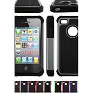 Etui Til iPhone 4/4S Apple Fuldt etui Blødt Silikone for iPhone 4s/4