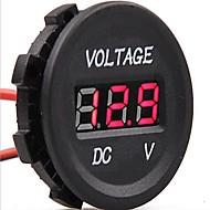 billiga Billaddare för mobilen-dc 12v-24v bil digitala ledde spänning elektrisk voltmeter monitor indikator testare