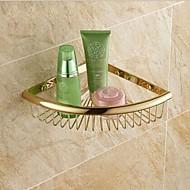 お買い得  TI-PVD Series-浴室棚 高品質 アンティーク 真鍮 1枚 - ホテルバス