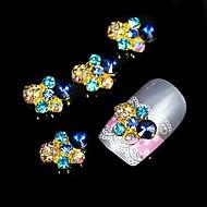 10pcs   Glitter Rhinestone DIY Alloy Accessories Nail Art Decoration