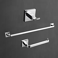 浴室用品セット / クロム コンテンポラリー