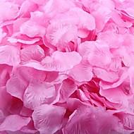 roz inchis petale de trandafir decorare masa (set de 100 de petale)