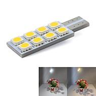 cheap Car LED Lights-T10 Car Light Bulbs 0.5W W SMD 5050 lm 8 Door Lamp Turn Signal Light License Plate Light Reading Light Instrument Light