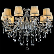 cheap Chandeliers-LWD Candle-style Chandelier Ambient Light - Crystal, Mini Style, 110-120V / 220-240V Bulb Not Included / 30-40㎡ / E12 / E14