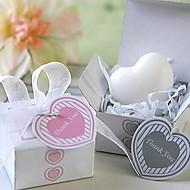 Cadouri de vacanță mini in forma de inima săpun formă (culoare aleatorii)