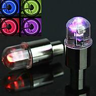 Sykkellykter Blinkende ventillys Sykling Alarm AG10 knapp batteri Lumens Batteri Sykling-FJQXZ