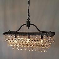 נברשות ,  מסורתי/ קלאסי Electroplated מאפיין for קריסטל מתכת חדר שינה חדר אוכל חדר עבודה / משרד מסדרון