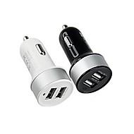 Двойной USB сигареты автомобиля адаптер легче питания для смартфонов и вкладки