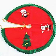 Christmas Tree Skirt Decoration Santa Claus Diameter 90CM High Quality