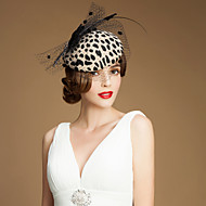 vunena tulle fascinators kape headpiece klasični ženski stil