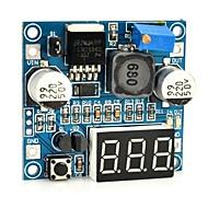 """lm2596 dc til dc buck modul m / 3-sifret 0,45 """"digitalt display tube"""
