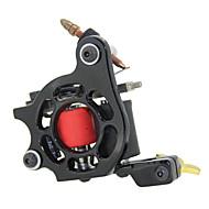 お買い得  アイアンタトゥーマシン-1個のデュアルコイルは、ライナーとシェーダ(色以上)のための鉄のタトゥーマシンをキャスト