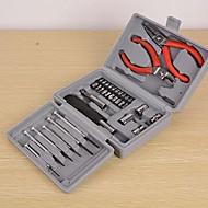 familie drinkbaar dubbele tang tool set box voor telefoon / computer gerepareerd