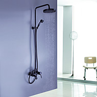 cheap Summer Sale-Shower Faucet - Antique Oil-rubbed Bronze Shower System Ceramic Valve