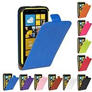 のために Nokiakケース フリップ ケース フルボディー ケース ソリッドカラー ハード PUレザー Nokia Nokia Lumia 620