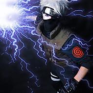 Cosplay Wigs Naruto Hatake Kakashi Anime Cosplay Wigs 35 CM Heat Resistant Fiber Men's