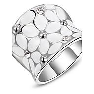 Női Vallomás gyűrűk jelmez ékszerek Platina bevonat Ékszerek Kompatibilitás Napi Hétköznapi