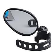 cheap Bike Accessories-Handlerbar Bike Mirror / Rearview Mirror Waterproof, Adjustable, 360°Rolling / Rotatable Cycling / Bike Plastic / Rubber Black