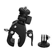 Beslag Til Styr Tilbehør Hjelmfæstning Opsætning Høj kvalitet Til Action Kamera Gopro 6 Sport DV Gopro 4/3+/2 AUTO Snescooter Jagt og