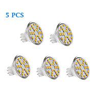 cheap LED Bulbs-200-250 lm GU4(MR11) LED Filament Bulbs 24 leds SMD 2835 Warm White Cold White AC 12V