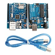 UNO R3 Board Module + Ethernet Shield W5100 Module for Arduino