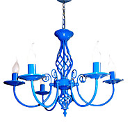 billige Takbelysning og vifter-LightMyself™ 5-Light Candle-stil Anheng Lys Omgivelseslys - LED, 110-120V / 220-240V Pære ikke Inkludert / 20-30㎡ / E12 / E14