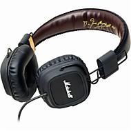 hesapli Kulaklık Setleri ve Kulaklıklar-MARSHALL MAJOR Kulak Üzerindeyim / Saç Bandı Kablolu Kulaklıklar Dinamik Plastik Cep Telefonu Kulaklık Ses Kontrollü / Mikrofon ile /