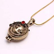 mode de vampire diaries elena legering film hanger ketting (goud, zilver) (1 st)