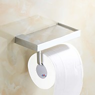 Toilet Paper Holder / Chrome Brass /Contemporary