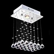 billige Taklamper-Krystall Anheng Lys Nedlys galvanisert Metall Krystall, Mini Stil, LED 110-120V / 220-240V Varm Hvit / Kald Hvit Pære Inkludert / GU10