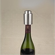 Stainless Steel Wine Stopper,Stainless Steel+Silicone 7.5×4.5×4.5 CM(3.0×1.8×1.8 INCH)