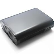 de protecție box caz coajă abs pentru Raspberry Pi b + - negru