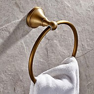 cheap Bathroom Products-Towel Bar High Quality Antique Brass 1 pc - Hotel bath towel ring