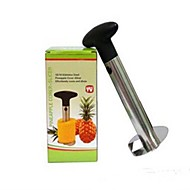baratos Utensílios de Fruta e Vegetais-descascador de abacaxi multifuncional, de aço inoxidável 9 × 9 × 18,5 centímetros (3,6 × 3,6 × 7,3 polegadas)