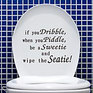 Badezimmer Sticker