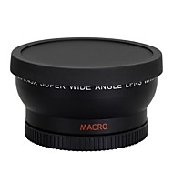 0.45x 58mm WIDE Angle LENS for Nikon Canon EOS 500D Rebel T1i T2i T3i T4i 450D 550D