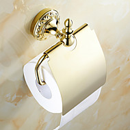 Toilet Paper Holder / Ti-PVD Brass /Neoclassical